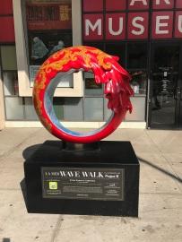 Wave Walk 2 Folk Art (3)