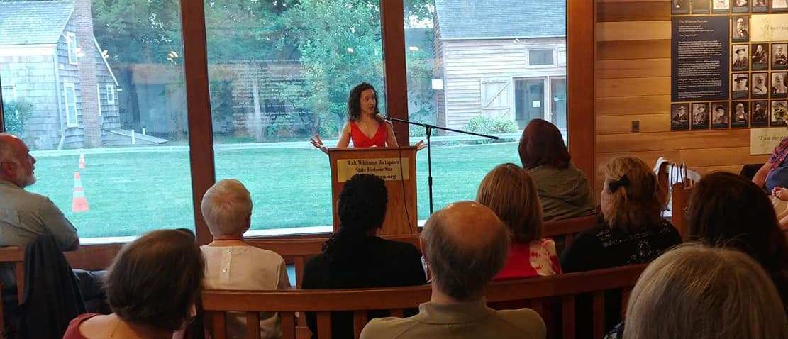 Christina M. Rau reading